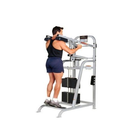 life fitness pro 1 mollets debout machine de musculation de marqu. Black Bedroom Furniture Sets. Home Design Ideas