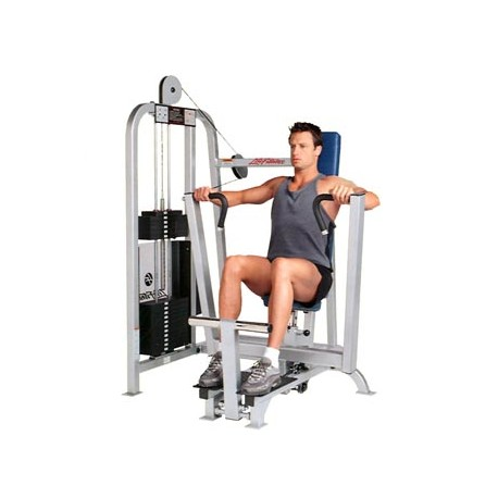life fitness pro 1 chest press machine de musculation fitness occasion. Black Bedroom Furniture Sets. Home Design Ideas