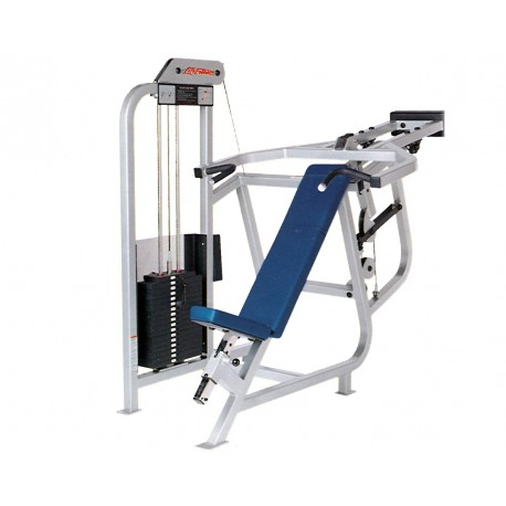 Life Fitness - Pro 1 Chest incline Machine de musculation
