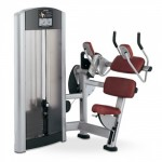 ABDOMINAL CRUNCH LIFE FITNESS SIGNATURE PROMO OCCASION RECONDITIONNEE