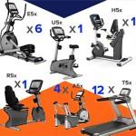 MATRIX - Lot de 25 machines cardio 5X