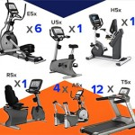 MATRIX - Lot de 25 machines cardio 5X