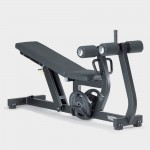 BANC REGLABLE DECLINE/ABDO TECHNOGYM PURE STRENGTH OCCASION