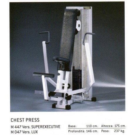 CHEST PRESS TECHNOGYM ISOTONIC OCCASION