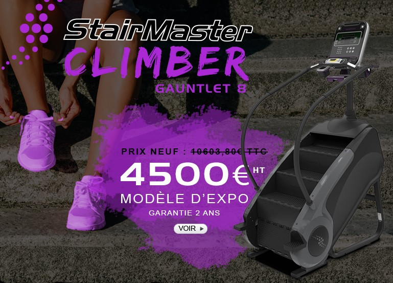 Climber Stairmaster Escalier Gauntlet 8